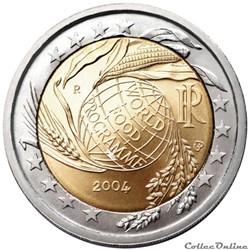2 euro - Italie 2004