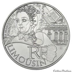 10 euros Limousin 2012