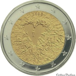 2 euro - Finlande 2008