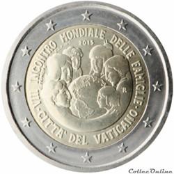 2 euro - Vatican 2015