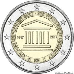 2 euro - Belgique 2017