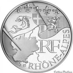 10 euros Rhône-Alpes 2010
