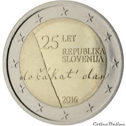 2 euro - Slovénie 2016