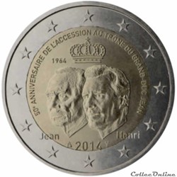 2 euro - Luxembourg 2014
