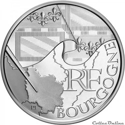 10 euros Bourgogne 2010