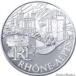 10 euros Rhône-Alpes 2011
