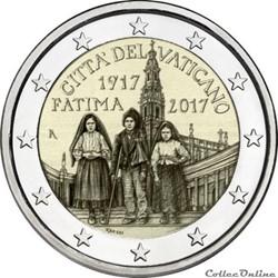 2 euro - Vatican 2017