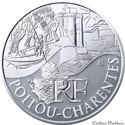 10 euros Poitou-Charentes 2011