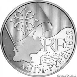 10 euros Midi-Pyrénées 2010