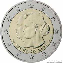 2 euro - Monaco 2011