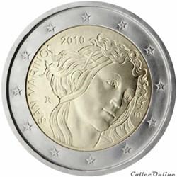 2 euro - Saint-Marin 2010