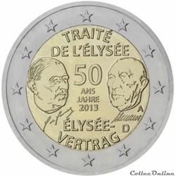 2 euro - Allemagne 2013