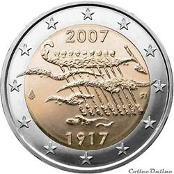 2 euro - Finlande 2007