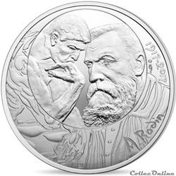 10 euros Auguste Rodin 2017