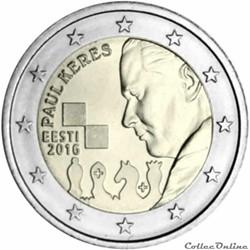 2 euro - Estonie 2016