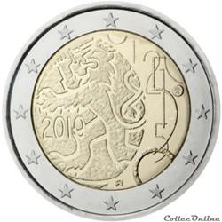 2 euro - Finlande 2010