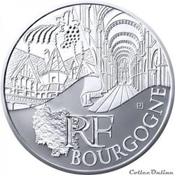 10 euros Bourgogne 2011