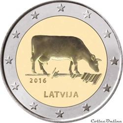 2 euro - Lettonie 2016