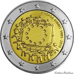 2 euro - Chypre 2015
