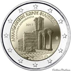 2 euro -Grèce 2017