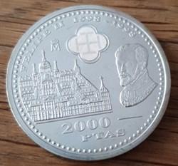 2000 pesetas 1998