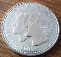 2000 pesetas 2001