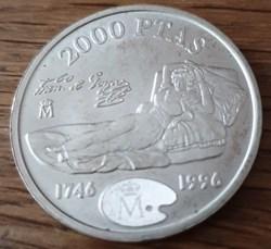2000 pesetas 1996