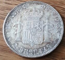 2 pesetas 1905