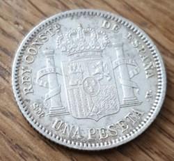 1 peseta 1904