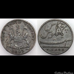 V CASH EAST INDIA COMPANY 1803