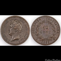 10 CENT. LOUIS-PHILIPPE I 1839 A