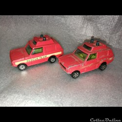range rover pompier