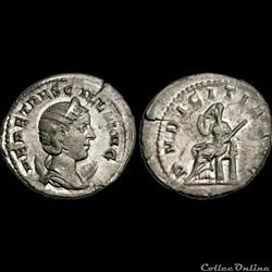 ÉTRUSCILLE - Antoninien - 250 - Rome - 6e officine
