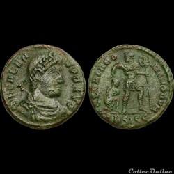VALENS Nummus - 364 - Siscia - 2e offici...