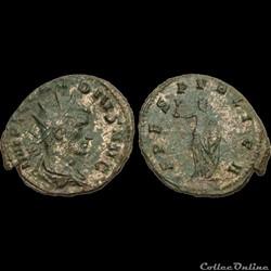 CLAUDE II LE GOTHIQUE - Antoninien - 268 269 - Rome - ruban type 3