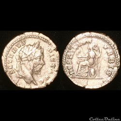 SEPTIME SEVERE Denier - 207 - Rome - 1er Officine - type 1
