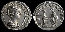 Plautilla, Denarius