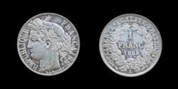 3° republique (1870-1940) - 1 franc 1888...