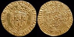 Charles VII (1422-1461) - Ecu d'or