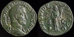 Maximinius, Sestertius
