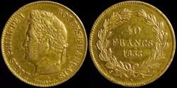 Louis-Philippe I° (1830-1848) - 40 franc...