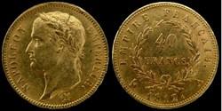 Napoleon I° Empereur - 40 francs or 1812...