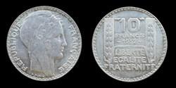 3° republique (1870-1940) - 10 francs 19...