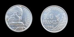4° république (1946-1958) - 100 francs 1...