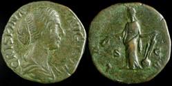 Crispina, Sestertius