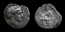 Bruttium, Terina, 1/3 nomos, 420-400 BC