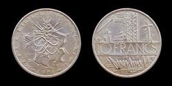5° république (1958- ) 10 francs 1978