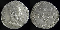 Henri II (1547-1559) - Teston 1555 M