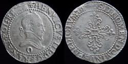 Henri III (1574-1589) - Demi franc 1587 ...