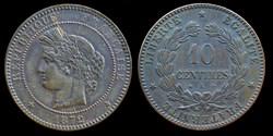 3° republique (1870-1940) - 10 centimes ...